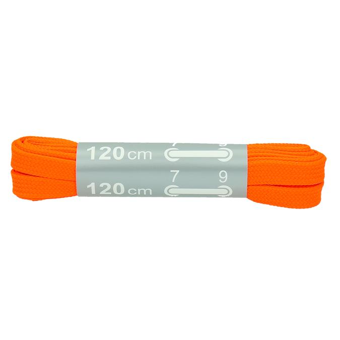 Colour laces bata, orange, 999-3266 - 13