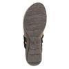 Ladies' leather sandals weinbrenner, black , 566-6101 - 26