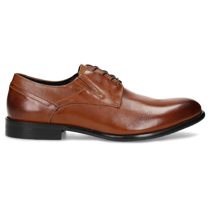 Men's leather shoes bata, brown , 824-4722 - 19