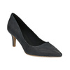 Mid-heel pumps bata, black , 626-9601 - 13