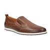 Men´s leather Slip-ons bata, brown , 814-4148 - 13