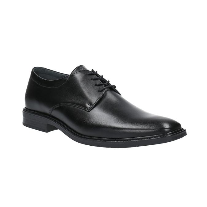 Leather Men's Shoes climatec, black , 824-6130 - 13