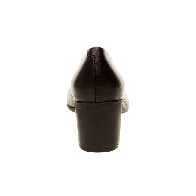 Leather Pumps flexible, black , 624-6706 - 17