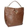 Brown Hobo-style handbag bata, brown , 961-3808 - 13