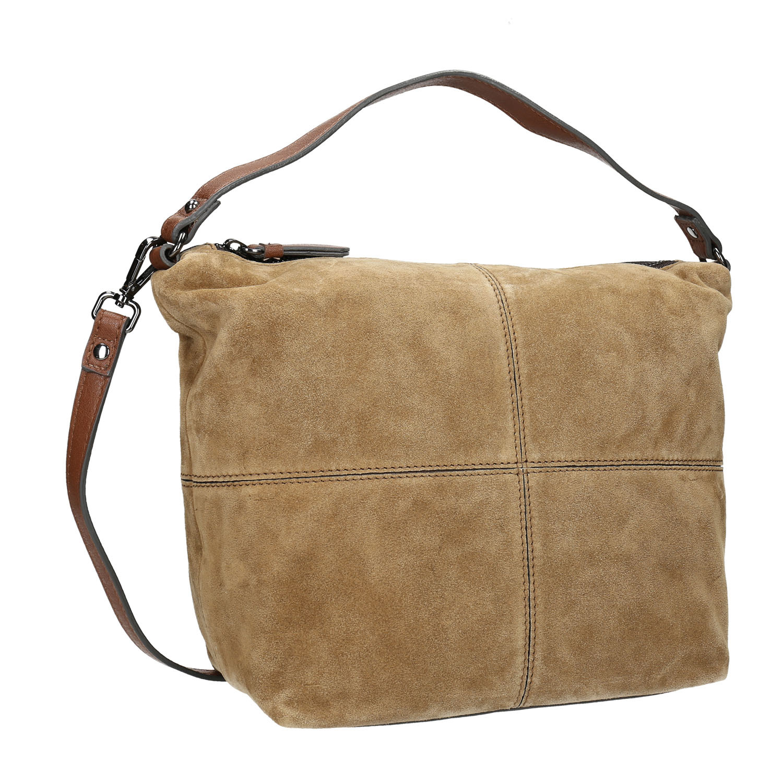 Bata Leather handbag with quilting - Medium Handbags  5490267a96d3a