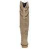 High boots above the knee bata, beige , 599-2602 - 17
