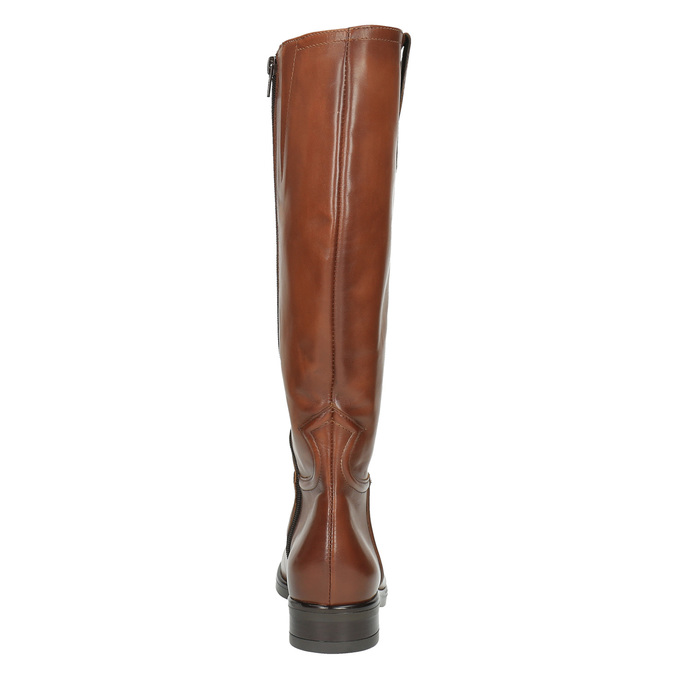 Ladies´ leather Cossacks bata, brown , 596-4608 - 17