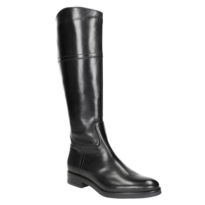 Ladies´ leather Cossacks bata, black , 594-6606 - 13