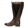 H-width leather Cossacks bata, brown , 596-4611 - 19