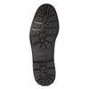 Leather winter shoes bata, black , 894-6642 - 17