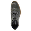 Men's leather ankle boots bata, gray , 894-2621 - 19