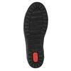 Ladies' leather sneakers bata, black , 524-6349 - 26