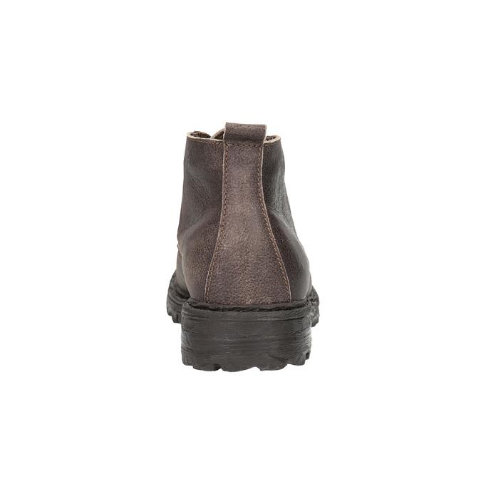 Men's ankle boots weinbrenner, brown , 846-4603 - 17