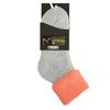 Ladies' thermal socks, gray , orange, 919-5380 - 13