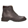 Ladies' leather ankle boots weinbrenner, brown , 596-4632 - 15