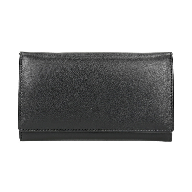 Ladies' leather purse, black , 944-6357 - 26