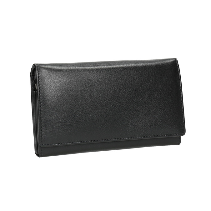 Ladies' leather purse, black , 944-6357 - 13