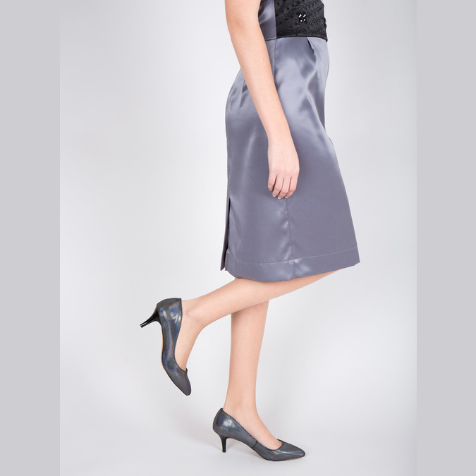 Ladies' pumps with colourful glitter bata, 629-0631 - 18