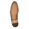 Patterned leather shoes bata, blue , 826-9813 - 26