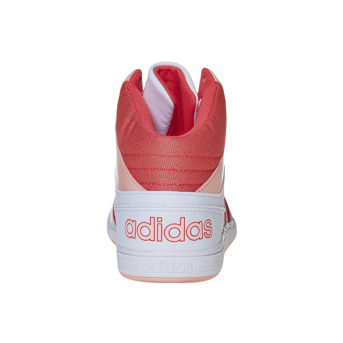 Girls' ankle sneakers adidas, white , 401-5253 - 17