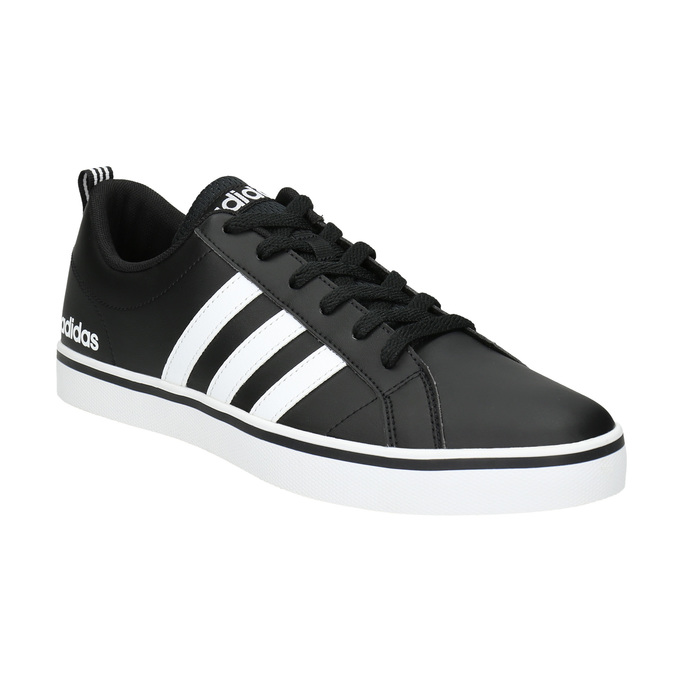 Men's casual sneakers adidas, black , 801-6136 - 13