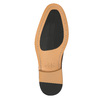 Brown leather Derby-style shoes bata, brown , 826-3812 - 19