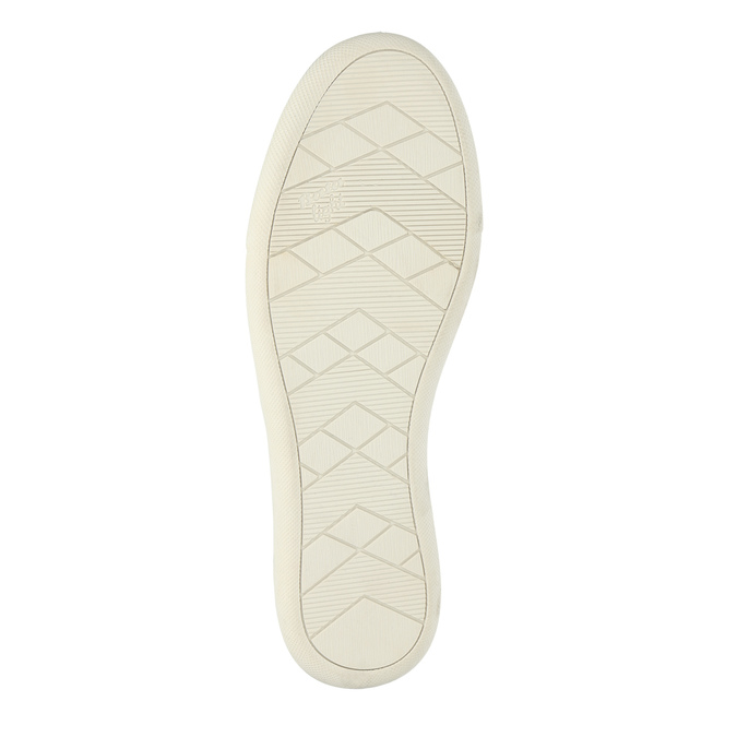 Leather shoes with perforations bata, pink , 516-5601 - 26