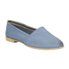 Ladies' shoes in the Slip-on style bata, blue , 516-9602 - 13