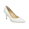 Ladies´ leather pumps bata, white , 624-1632 - 13