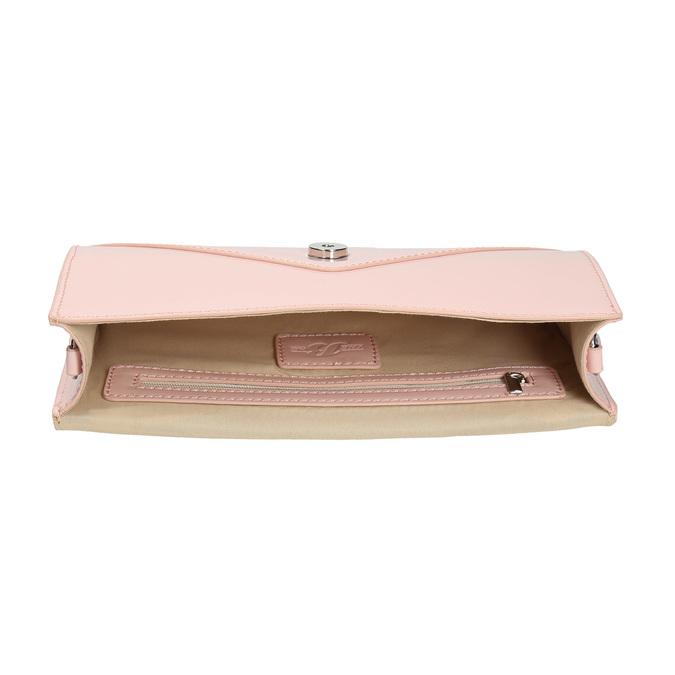 Pink envelope handbag for ladies bata, pink , 961-5685 - 15