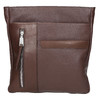 Men's leather crossbody bag bata, brown , 964-4230 - 19