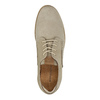 Casual leather shoes weinbrenner, beige , 846-8630 - 19