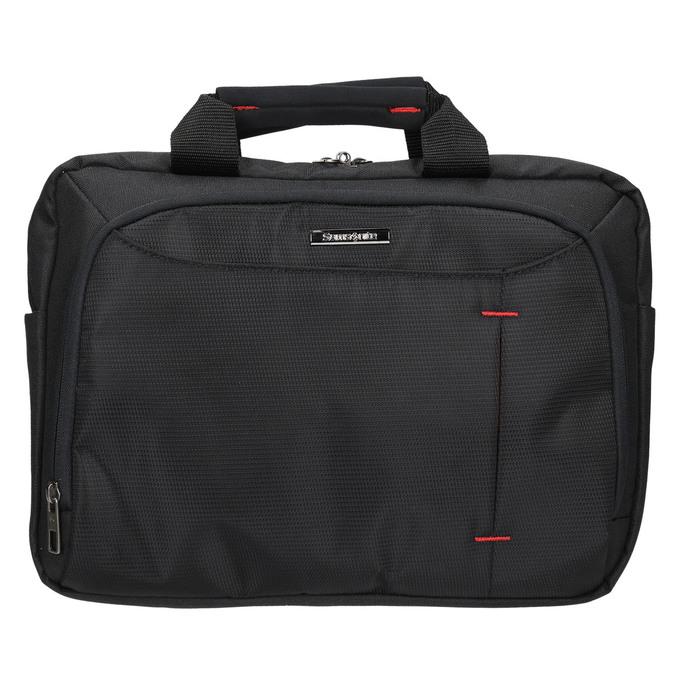 Professional laptop bag, black , 969-2378 - 19