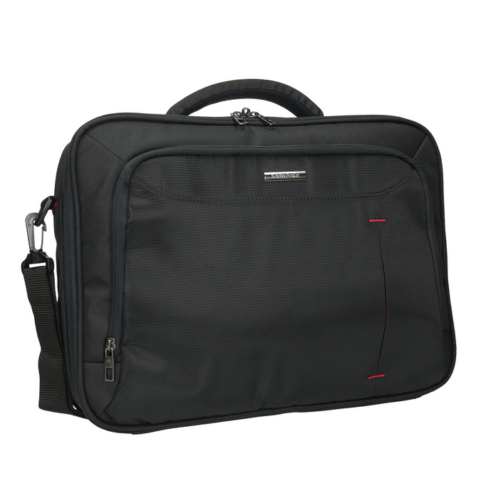 Laptop bag, black , 969-2393 - 13