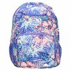 Backpack with coloured pattern roxy, violet , 969-9071 - 19