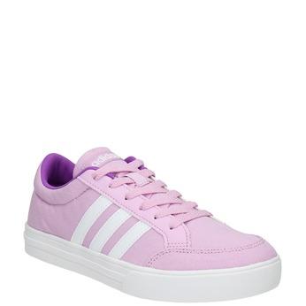 Girls' purple sneakers adidas, violet , 489-9119 - 13