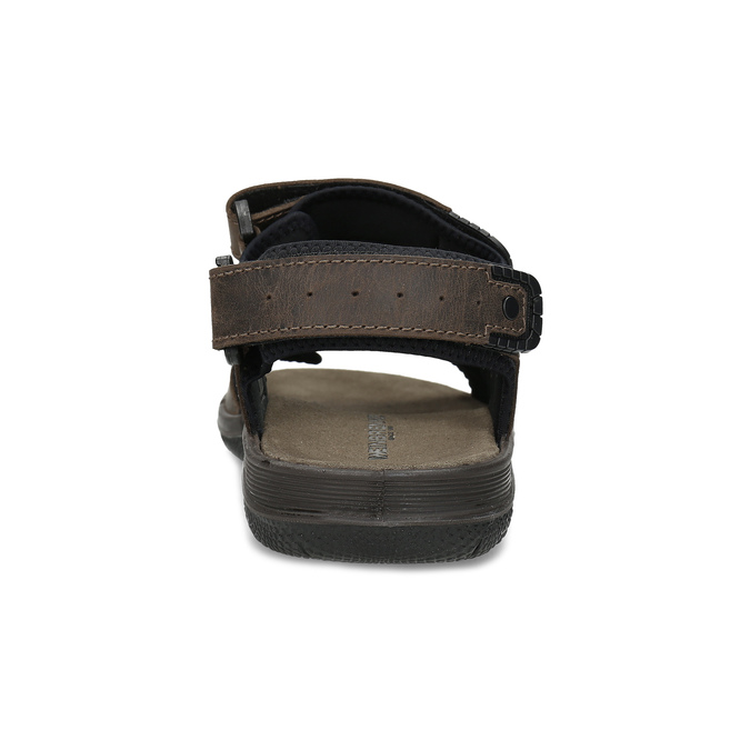 Leather sandals with Velcro fasteners, 866-4631 - 15