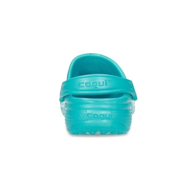 Children's turquoise sandals coqui, turquoise, 372-9605 - 15