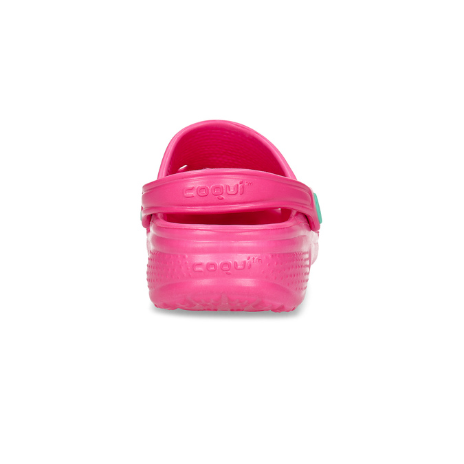 Girls' pink sandals coqui, pink , 372-5604 - 15