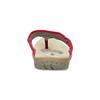 Ladies' flip-flops with a distinctive sole weinbrenner, red , 566-5611 - 15