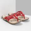 Ladies' flip-flops with a distinctive sole weinbrenner, red , 566-5611 - 26
