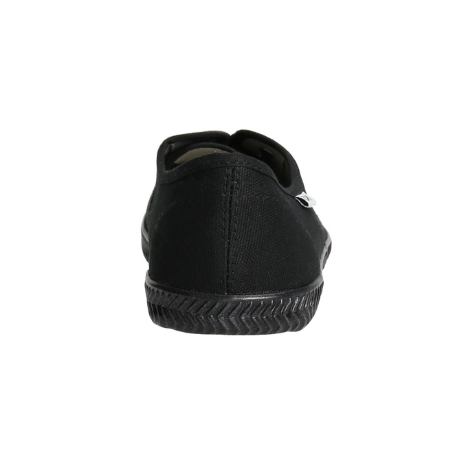 Ladies' black sneakers tomy-takkies, black , 589-6180 - 17