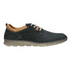 Casual leather shoes, blue , 846-9654 - 26