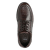 Men's casual shoes with stitching, brown , 824-4987 - 26