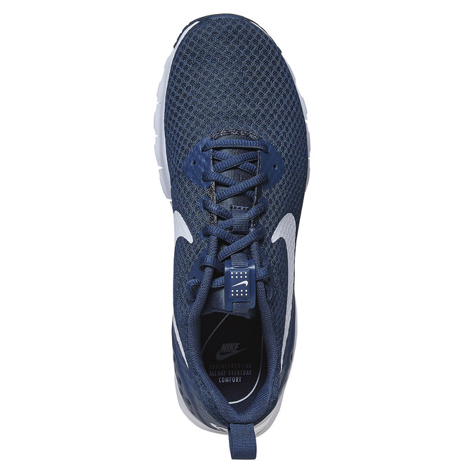 Men's athletic sneakers nike, blue , 809-9357 - 19