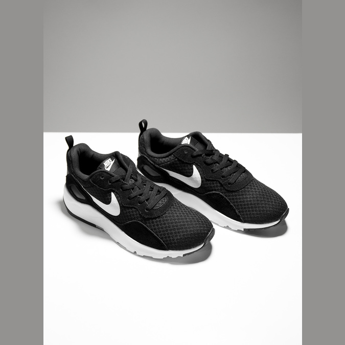 Ladies' sneakers with distinctive sole nike, black , 509-1160 - 19