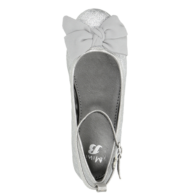 Girls' Silver Sandals mini-b, silver , 329-1286 - 15