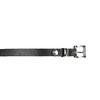 Ladies' leather belt bata, black , 954-6199 - 26