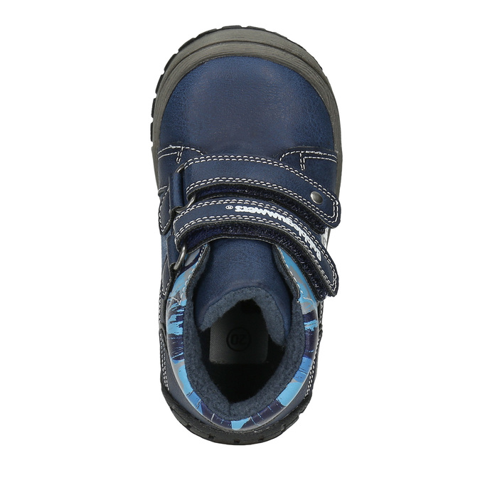 Boys' ankle boots bubblegummer, blue , 111-9618 - 19