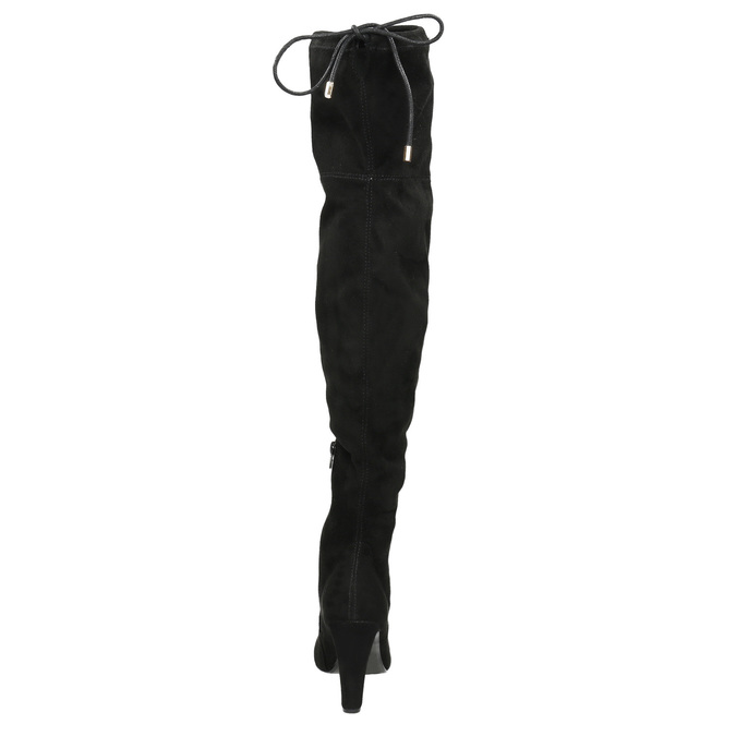 Over-knee high boots with heels insolia, black , 799-6618 - 17